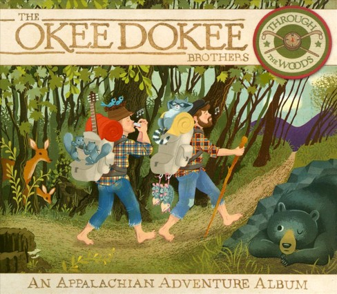 Okee dokee brothers - Through the woods:Appalachian adventu (CD) - image 1 of 1