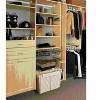 Rev-A-Shelf Sidelines CBLSL Washable Canvas Cloth Closet Basket Liner with Velcro Tabs, Tan - image 3 of 4