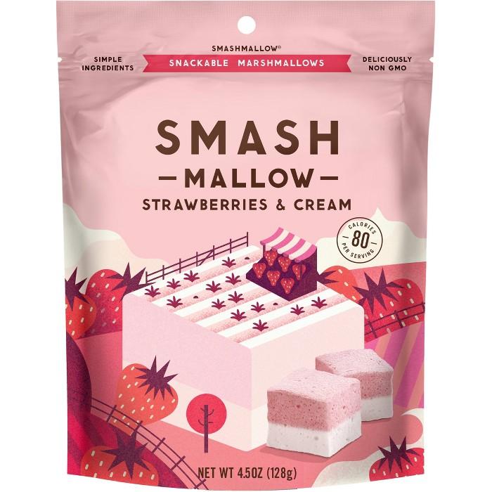 SmashMallow Strawberries & Cream Marshmallows - 4.5oz - image 1 of 5