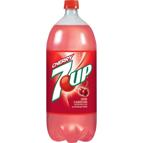 7UP Cherry - 2 L Bottle - image 1 of 2