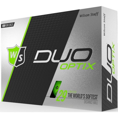 Wilson Staff Duo Soft Optix Green Golf Balls - image 1 of 1