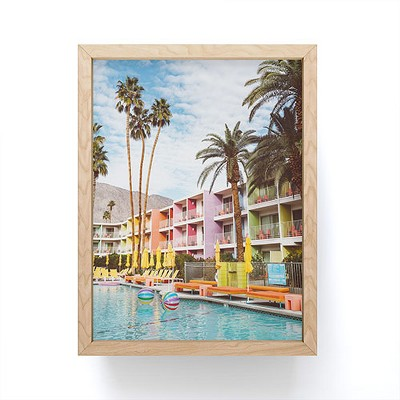 Bethany Young Photography Palm Springs Pool Day VII Framed Mini Art - Society6