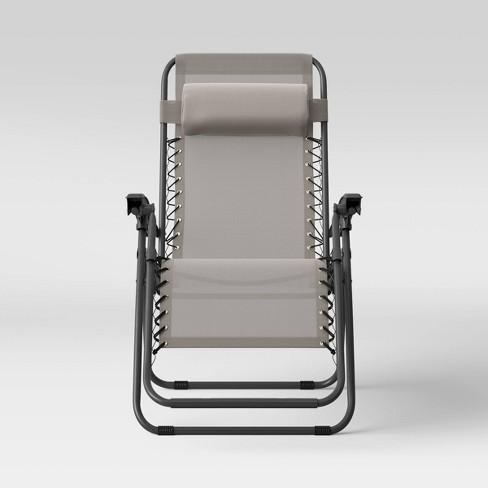 Zero Gravity Patio Lounger - Room Essentials™ - image 1 of 4