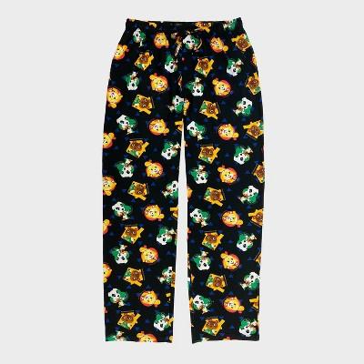 Men's Nintendo Animal Crossing Pajama Pants - Black