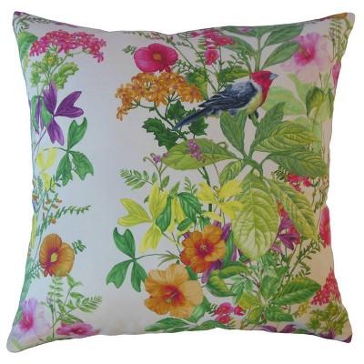 Floral Throw Pillow Aloha - The Pillow Collection