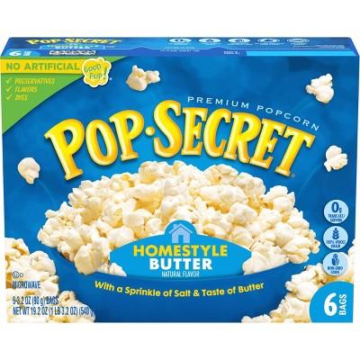 Pop Secret Homestyle Microwave Popcorn - 6ct