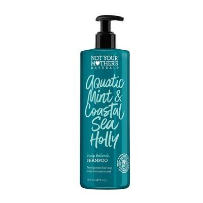 Not Your Mother's Naturals Aquatic Mint and Coastal Sea Holly Scalp Refresh Shampoo - 16oz