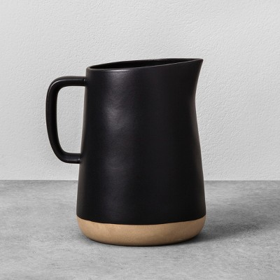 Stoneware Pitcher - Black - Hearth & Hand™ with Magnolia