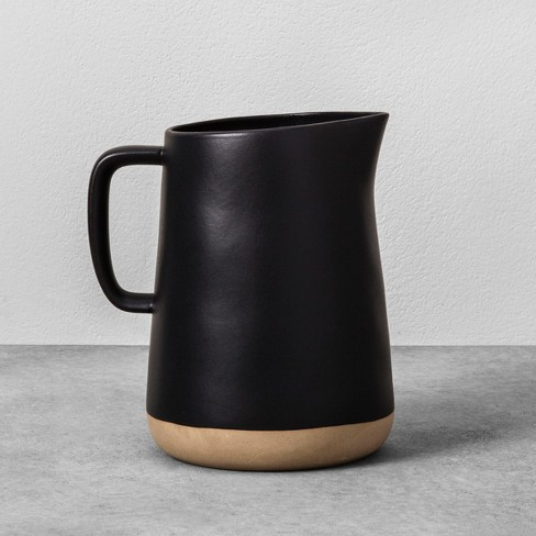 Stoneware Pitcher - Black - Hearth & Hand™ with Magnolia - image 1 of 3