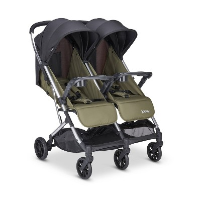Joovy KooperX2 Double Stroller - Olive