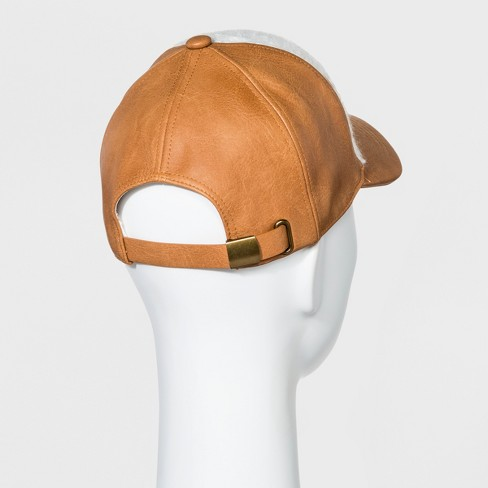 1b3273ab78ab0 Women s Baseball Hat Sherpa - Universal Thread™ Yellow   Target