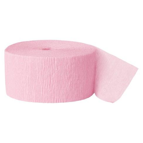 Light Pink Crepe Streamer - Spritz™ - image 1 of 3