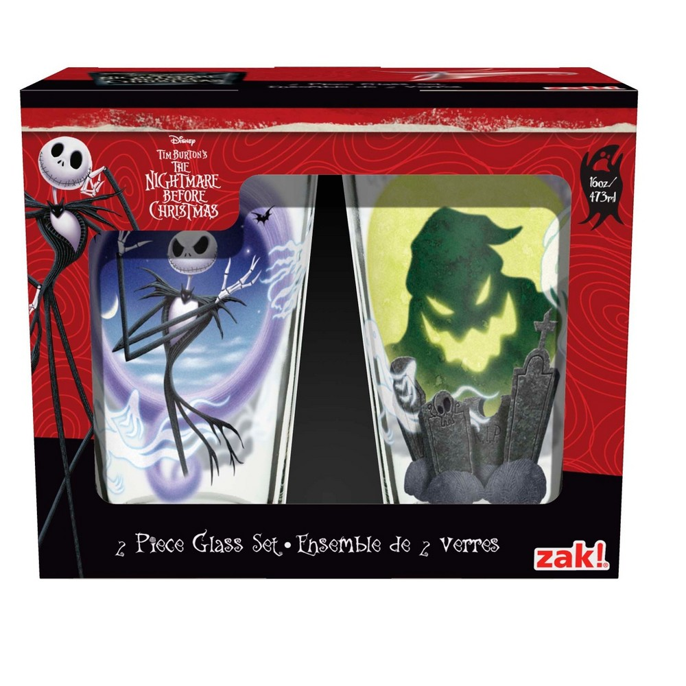 Zak Designs Drinkware - The Nightmare Before Christmas, Multi-Colored