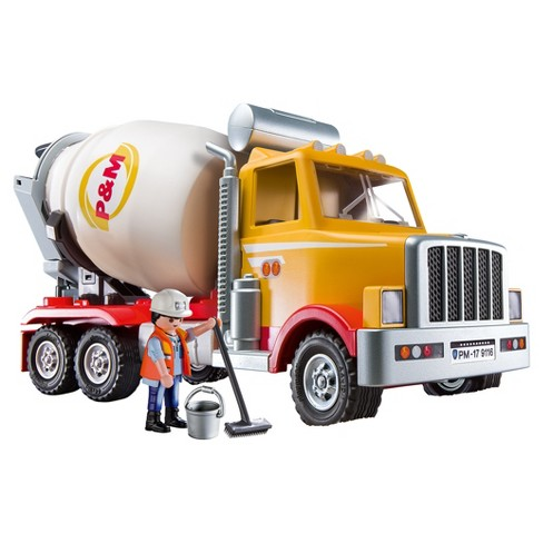 playmobil cement truck target