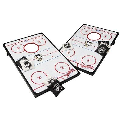 Pittsburgh Penguins Wild Sports® Platinum Shield Cornhole Bag Toss - 2'X3'