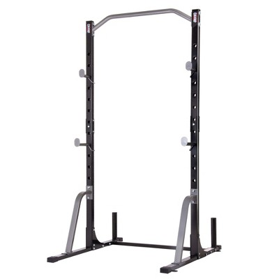 Body Champ PBC530 U Frame/ Cage Power Rack System & Olympic Weight Plate Storage