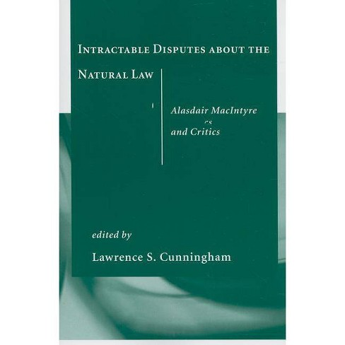 Intractable Disputes about the Natural Law - (Paperback) - image 1 of 1