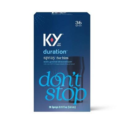 K-Y Duration Spray for Men 36 sprays