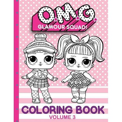 - O.M.G. Glamour Squad - By Books Plus (Paperback) : Target