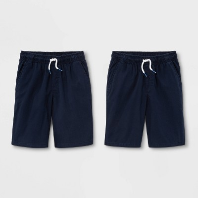 Boys' 2pk Pull-On Woven Shorts - Cat & Jack™