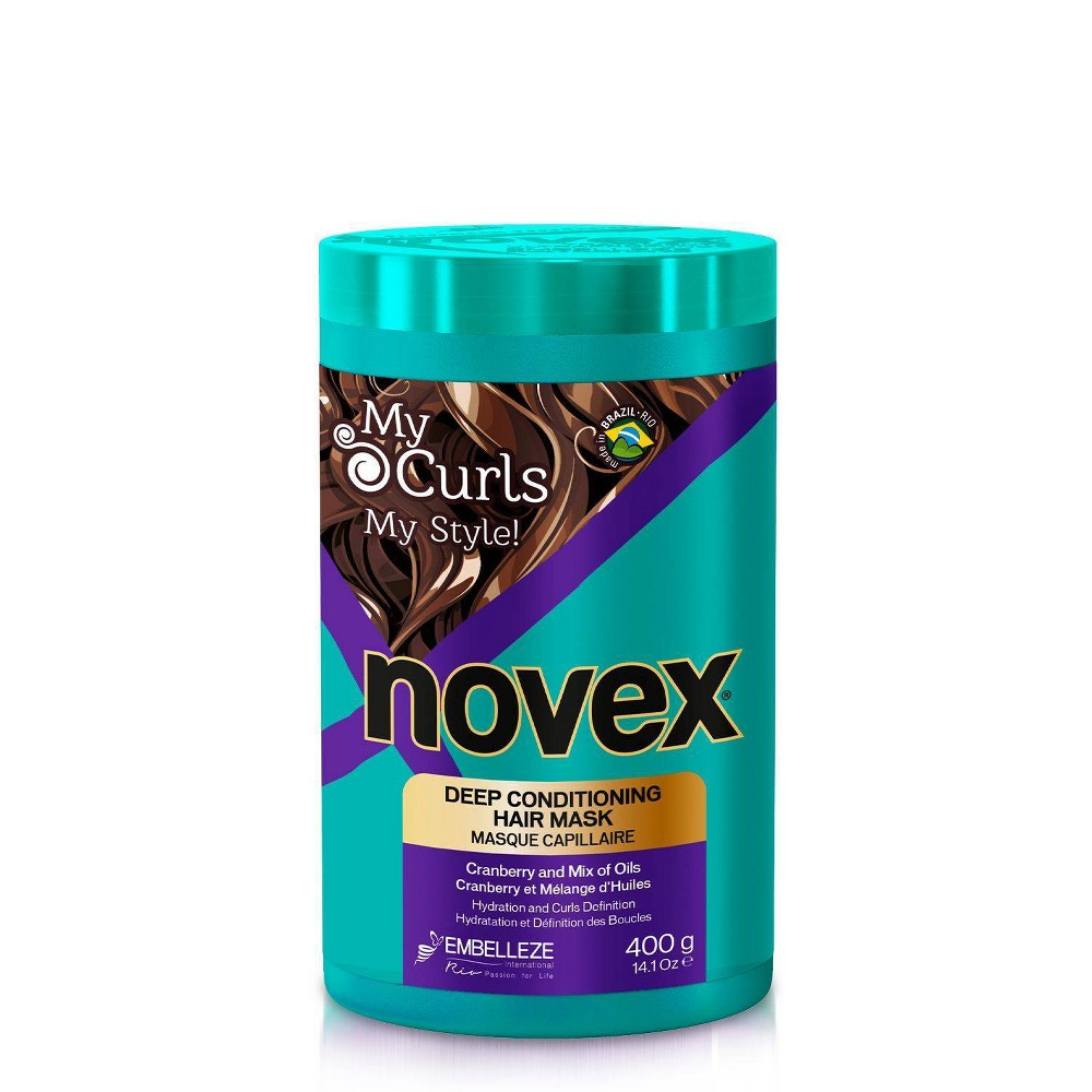 Image of Novex My Curls Extra Deep Hair Care Cream Mask - 14.1oz