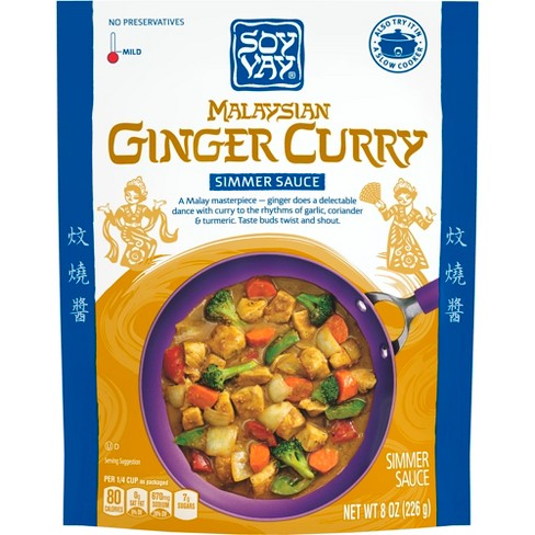 Soy Vay® Simmer Sauce Malaysian Ginger Curry 8 oz