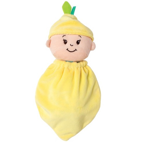 Manhattan Toy Wee Baby Stella Baby Doll Fruit Suit - Lemon - image 1 of 4