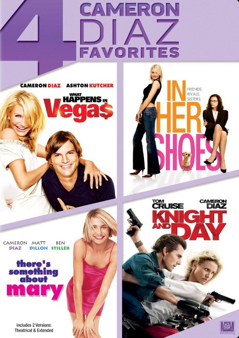 What Happens in Vegas/In Her Shoes/There's Something About Mary/Knight and Day [4 Discs] - image 1 of 1