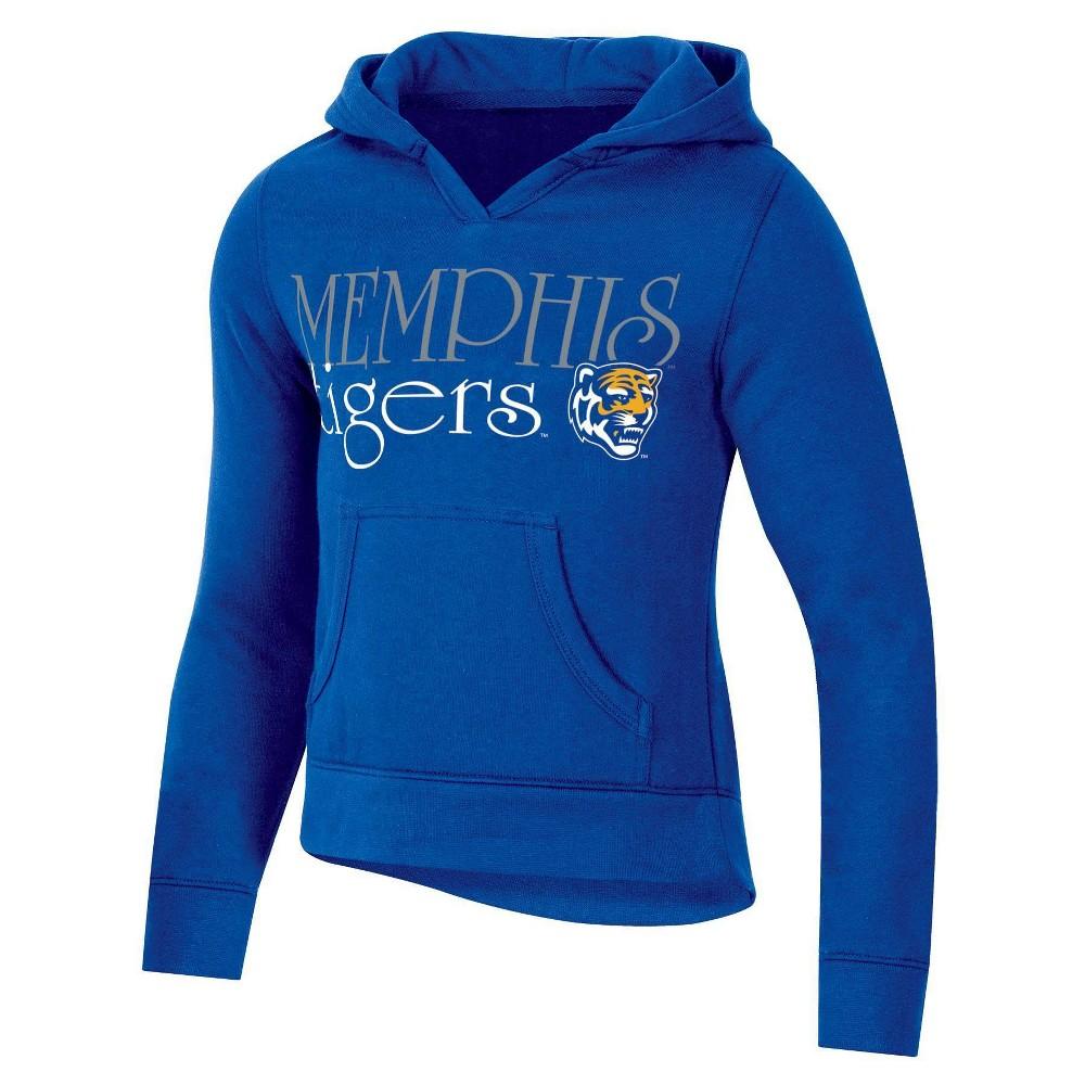 Ncaa Memphis Tigers Girls 39 Split Neck Hoodie Xs