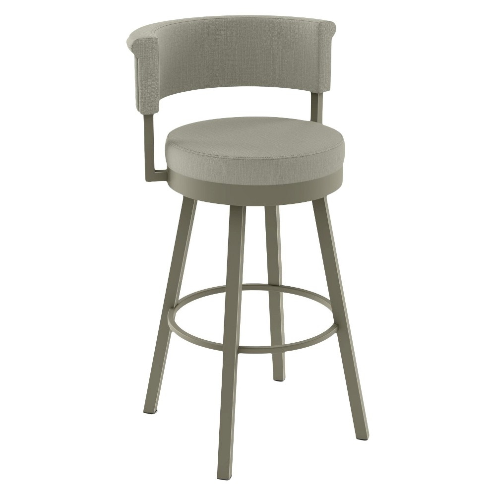Superb Rosco 27 Swivel Metal Counter Stool Gray Amisco Creativecarmelina Interior Chair Design Creativecarmelinacom
