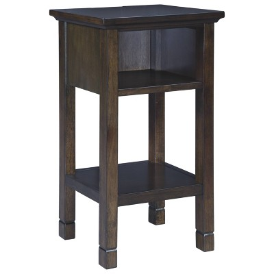 Marnville Accent Table Dark Brown - Signature Design by Ashley