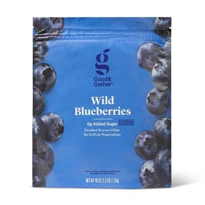 Frozen Wild Blueberries - 40oz - Good & Gather™
