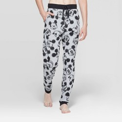 Men's Mickey Mouse Jogger Pajama Pants - Heather Gray