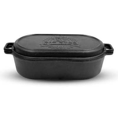 6qt Cast Iron Roaster with Lid - Pit Boss