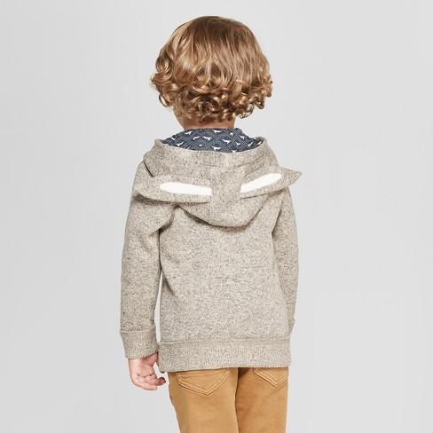 Genuine Kids From Oshkosh Toddler Boys Sweater Knit Bunny Ears