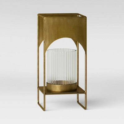Small Modern Brass Project 62 Candle Holder - Project 62™