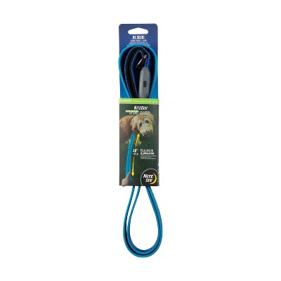 Nite Ize Nite Dog Rechargeable LED Dog Leash - Blue/Blue