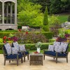 2pk Clark Square Outdoor Throw Pillows - Arden Selections - image 4 of 4
