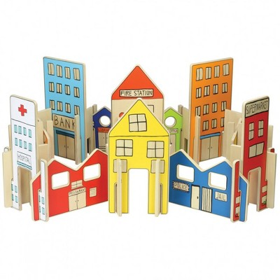 The Freckled Frog Happy Architect Town  - 26 Pcs