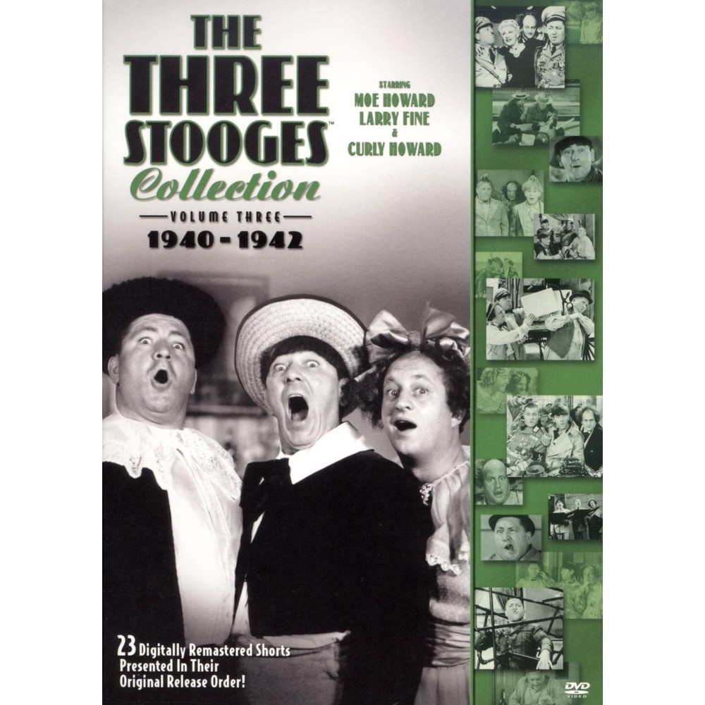 The Three Stooges Collection Vol. 3: 1940-1942 (2 Discs) (DVD) Price