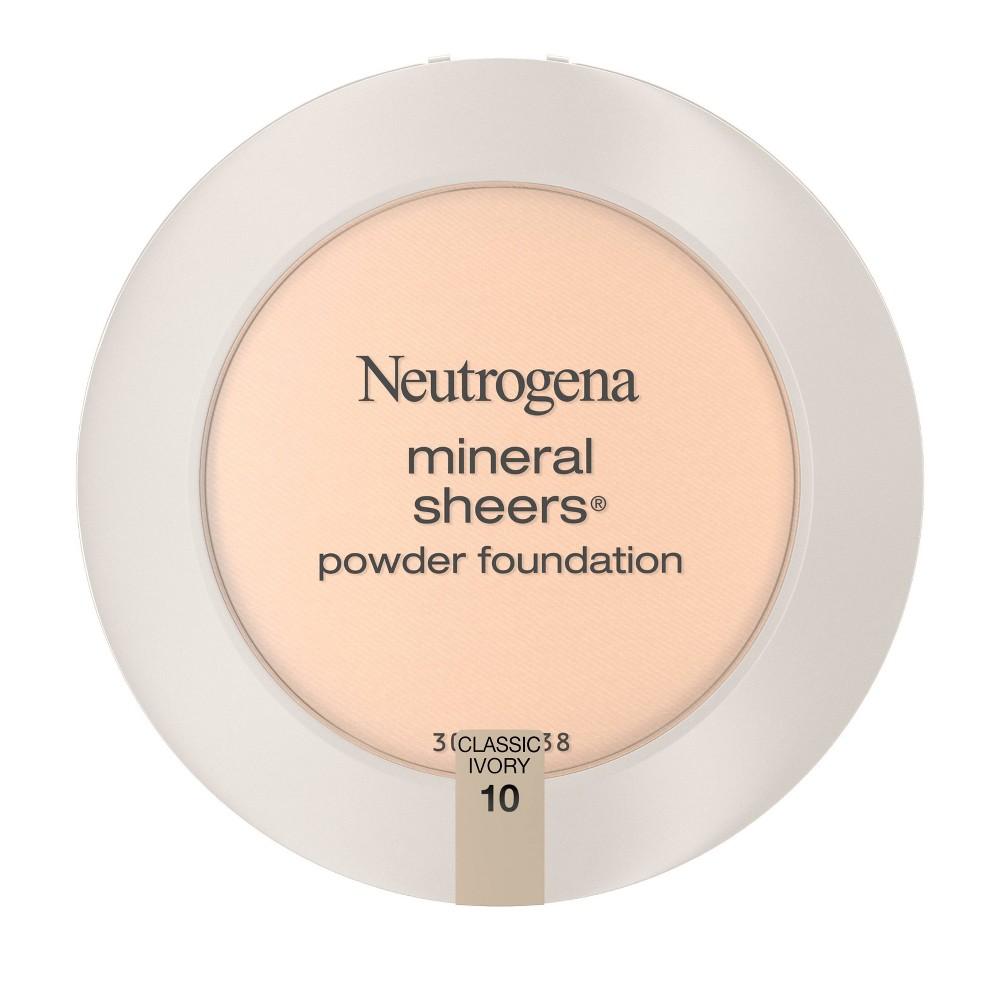 Neutrogena Mineral Sheers Compact Pressed Powder 10 Classic Ivory