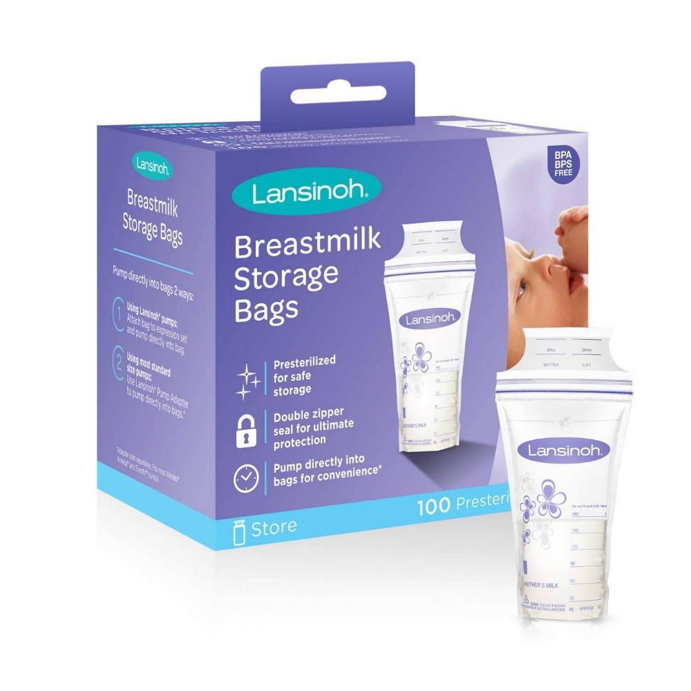 Image of Lansinoh Milk Storage Bag - 100ct