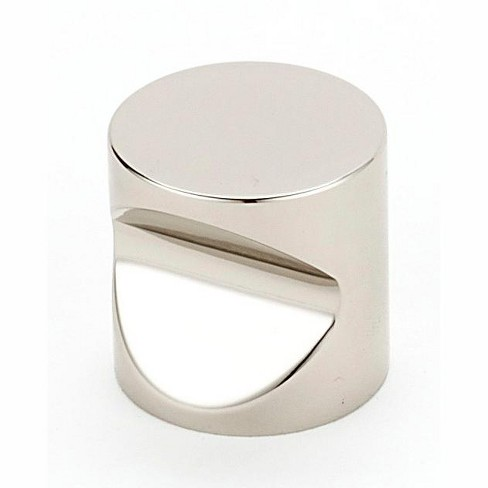 """Alno A823-1 Contemporary I 1"""" Cylindrical Cabinet Knob - image 1 of 1"""