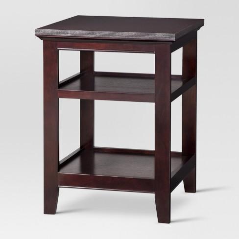 Carson Side Table Espresso Threshold