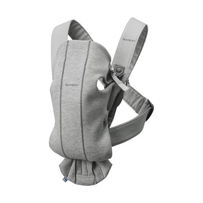 BABYBJÖRN Baby Carrier Mini 3D Jersey - Light Gray