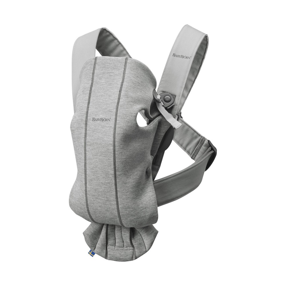 Image of BabyBjorn Baby Carrier Mini 3D - Gray Moon