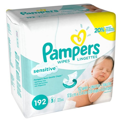 Pampers Baby Wipes Sensitive - image 1 of 1
