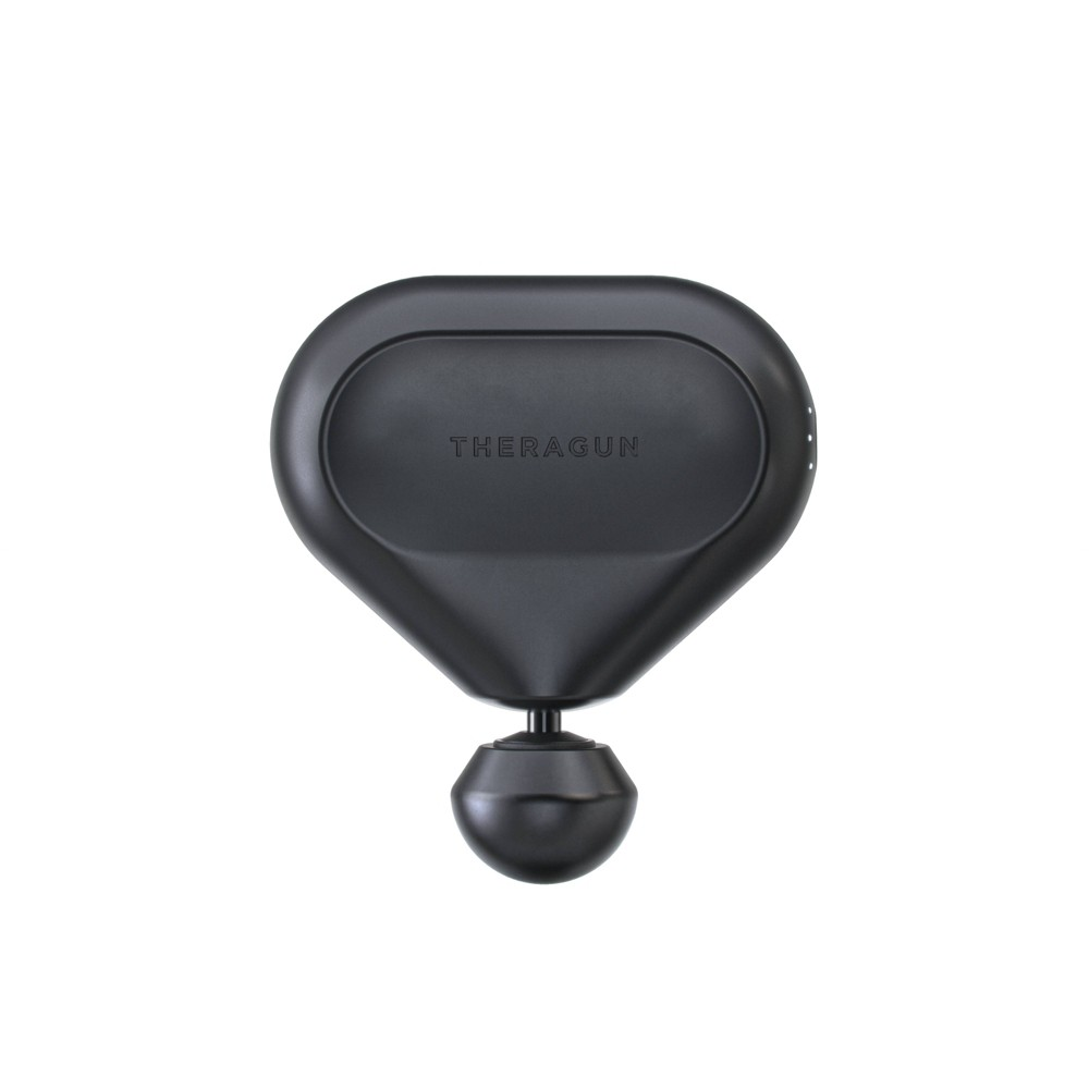 Theragun Mini Handheld Percussive Massage Device Theragun mini™Portable treatment packed with power. Theragun quality, anytime, anywhere. Theragun mini is your pocket-sized partner, giving you Theragun quality deep muscle treatment withunparalleled portability. Compact but powerful, Theragun mini is the most agile massage device that goeswherever you do. Unrivaled Power. Remarkably Quiet™. Proprietary brushless motor with QuietForce Technology™ delivers renowned Theragun power. Ultra-portableThe mini is built for portability and fits in the palm of your hand and weighs less than 1.5lbs. 3 SpeedsWith 3 speed options, the mini gives you the ability to customize treatments on the go.