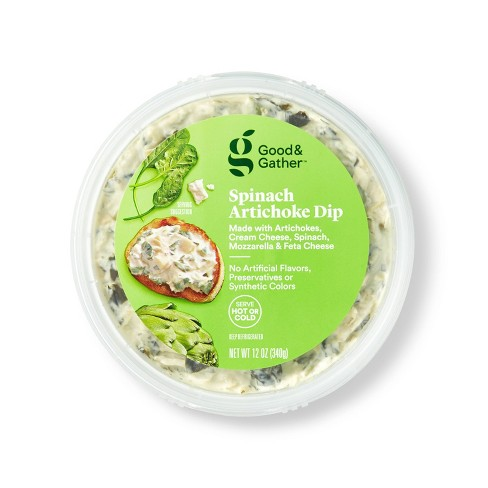 Spinach Artichoke Dip 12oz Good Gather Target