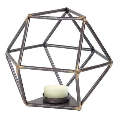 Decorative Metal Figurine - Brown